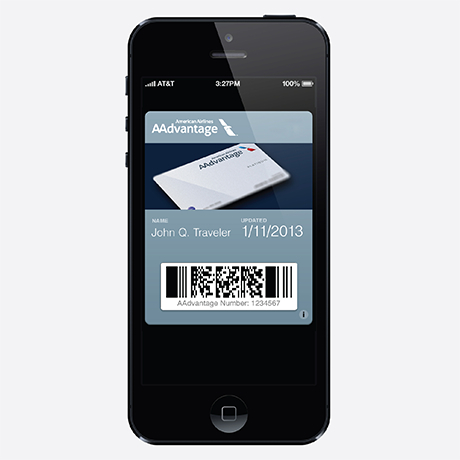 Passbook on the iPhone