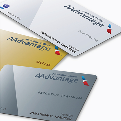 New AAdvantage cards