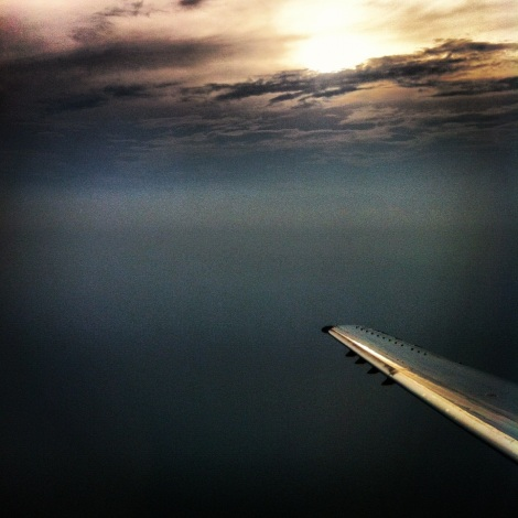 Sunsets from the sky.